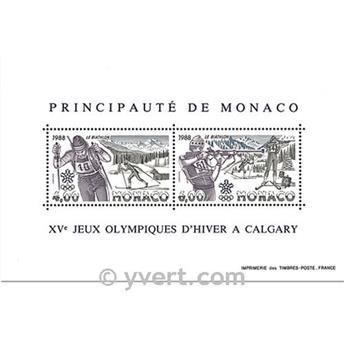 n.o 40 -  Sello Mónaco Bloque y hojitas