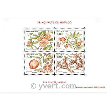 n° 44 -  Timbre Monaco Bloc et feuillets