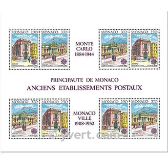 n.o 49 -  Sello Mónaco Bloque y hojitas
