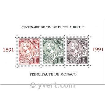 n° 53 -  Timbre Monaco Bloc et feuillets
