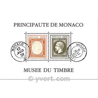 n.o 58 -  Sello Mónaco Bloque y hojitas