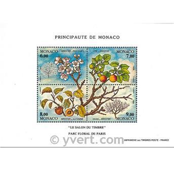 n.o 67 -  Sello Mónaco Bloque y hojitas
