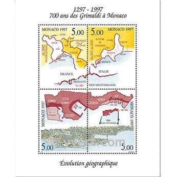 nr. 76 -  Stamp Monaco Souvenir sheets