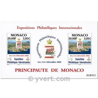 nr. 85 -  Stamp Monaco Souvenir sheets
