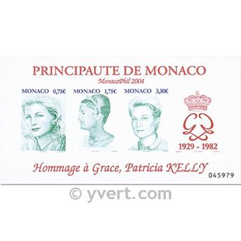 nr. 90 -  Stamp Monaco Souvenir sheets