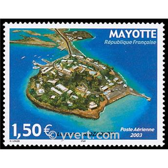 nr. 6 -  Stamp Mayotte Air mail