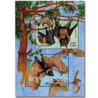 n.o 5 -  Sello Mayotte Bloques y hojitas