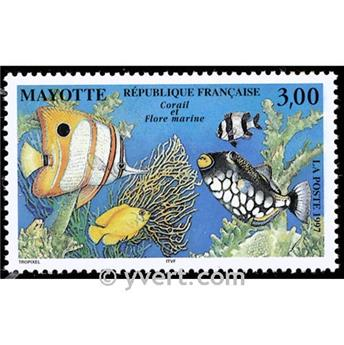 nr. 51 -  Stamp Mayotte Mail