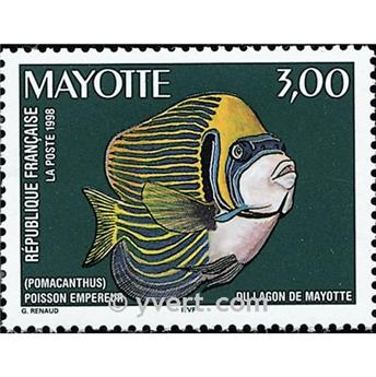 n° 60 -  Timbre Mayotte Poste