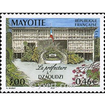 n.o 76A -  Sello Mayotte Correos