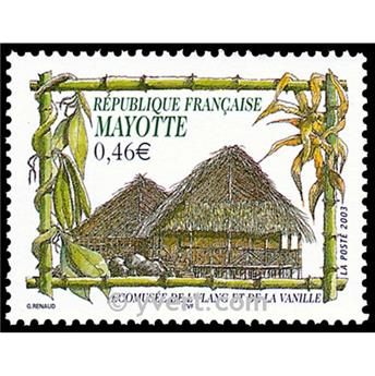 n.o 140 -  Sello Mayotte Correos