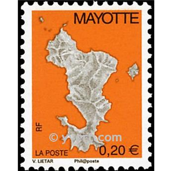 n.o 160a -  Sello Mayotte Correos