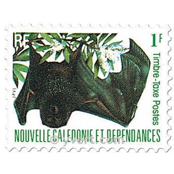 n.o 49 / 57 -  Sello Nueva Caledonia Tasa