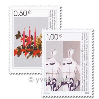 nr. 16/17 -  Stamp Kosovo - UN interim administration Mail