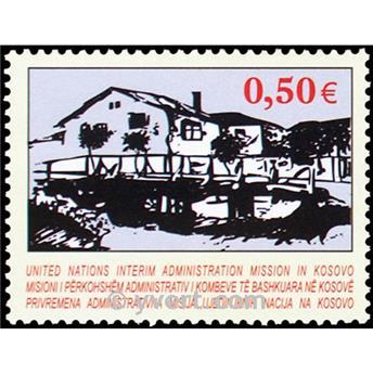 n° 27 -  Selo Kosovo - ONU Correios