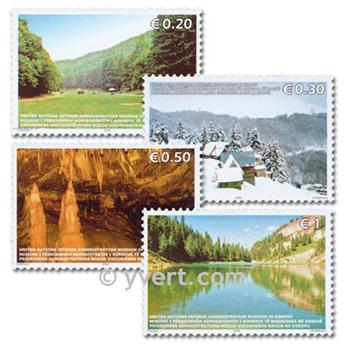 nr. 54/57 -  Stamp Kosovo - UN interim administration Mail