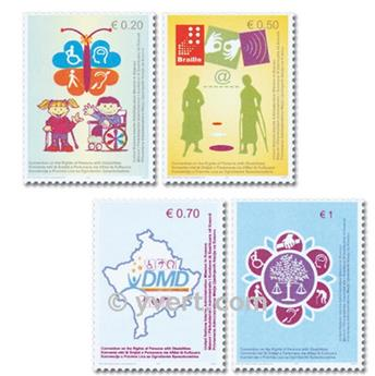 nr. 64/67 -  Stamp Kosovo - UN interim administration Mail