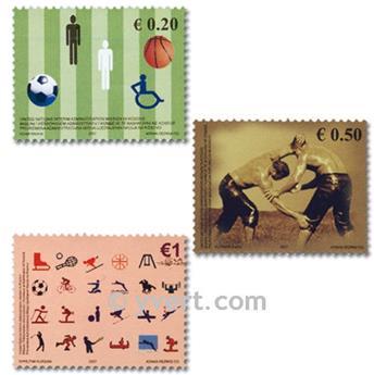 nr. 83/85 -  Stamp Kosovo - UN interim administration Mail