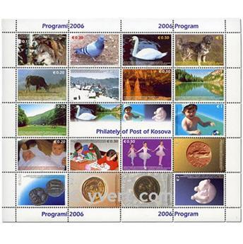 nr. 5bis -  Stamp Kosovo - UN interim administration Booklets panes