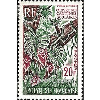 n.o 35 -  Sello Polinesia Correos