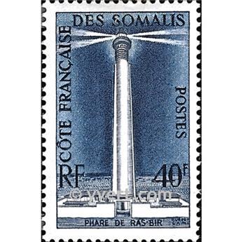 n° 286 -  Timbre Cote des Somalis Poste