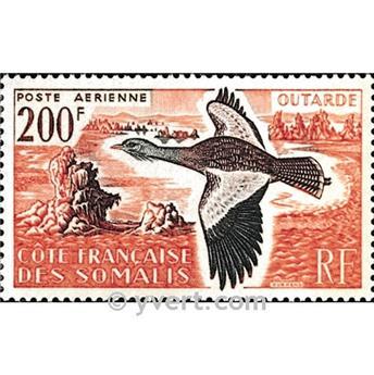 n.o 28 -  Sello Somalia francesa Correo aéreo