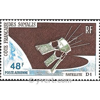 n° 48 -  Selo Somalilândia Francesa Correio aéreo
