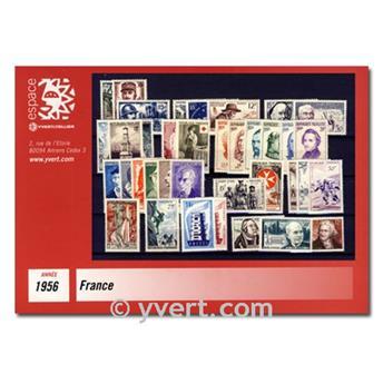 n° 1050/1090  - Timbre France Année complète  (1956)