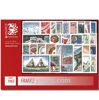 n° 1435/1467  - Timbre France Année complète  (1965)