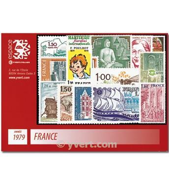 n° 2028/2072  - Selo França Ano completo  (1979)