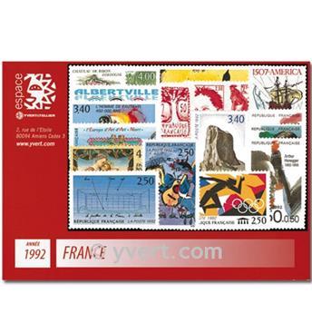 n° 2736/2784  - Timbre France Année complète  (1992)