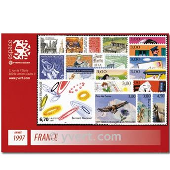 n° 3042/3128  - Timbre France Année complète  (1997)