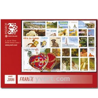 n° 3861/3995  - Timbre France Année complète  (2006)