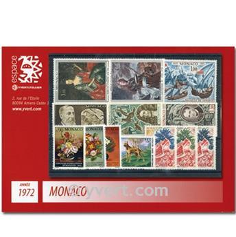 n.o 867 / 915 -  Sello Mónaco Año completo (1972)