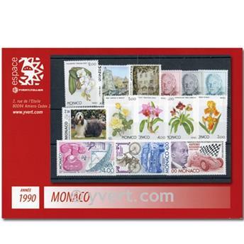 nr. 1705/1752 -  Stamp Monaco Year set (1990)