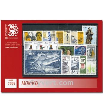 nr. 1971/2025 -  Stamp Monaco Year set (1995)