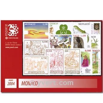 nr. 2418/2478 -  Stamp Monaco Year set (2004)