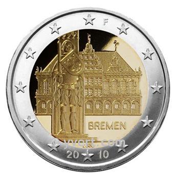 2 EUROS COMEMORATIVAS 2010: Alemanha (F)
