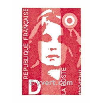 nr. 2 -  Stamp France Self-adhesive