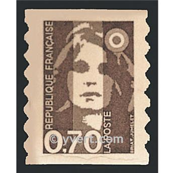 nr. 6 -  Stamp France Self-adhesive