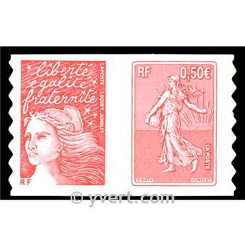 n° P36 -  Selo França Autoadesivos
