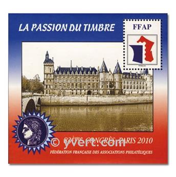 n.o 4 -  Sello Francia Federación Francesa de Asociaciones Filatélicas (FFAP)