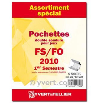 Assortiment de pochettes (double soudure) : 2010-1er semestre