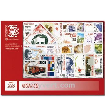n° 2658/2717 -  Timbre Monaco Année complète (2009)