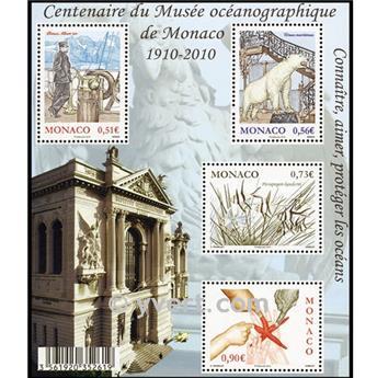 n° 97 -  Timbre Monaco Bloc et feuillets