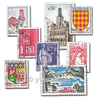 FRANCE: envelope of 600 stamps