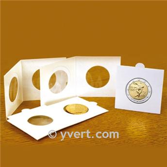 COIN HOLDERS: 25 mm - SELF SEALING
