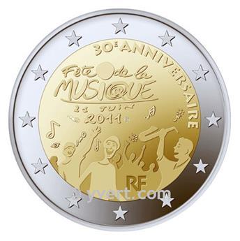 2 EUROS COMEMORATIVAS 2011: FRANÇA