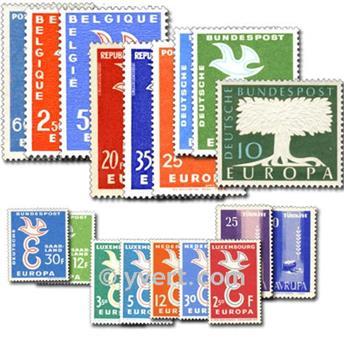 1958** - Année complète neuf EUROPA