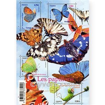 n.o 4498 / 4501 -  Sello Francia Correos